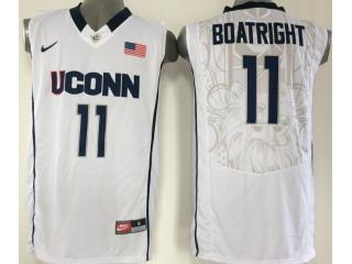 Uconn Huskies 11 Ryan Boatright College Basketball Jersey White