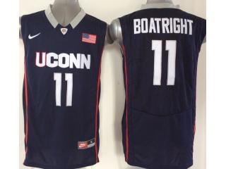 Uconn Huskies 11 Ryan Boatright College Basketball Jersey Navy Blue