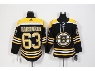Adidas Classic Boston Bruins 63 Brad Marchand Ice Hockey Jersey Black