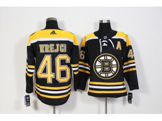Adidas Classic Boston Bruins 46 David Krejci Ice Hockey Jersey Black