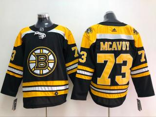 Adidas Classic boston bruins 73  Charlie McAvoy Ice Hockey Jersey Black