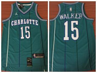 Nike New Orleans Hornets 15 Kemba Walker Basketball Jersey Green India