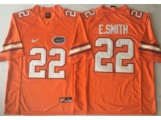 New Florida Gators 22 Emmitt Smith College Football Jersey Orange