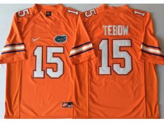 New Florida Gators 15 Tim Tebow College Football Jersey Orange