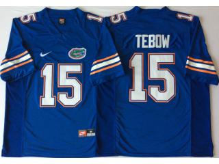 New Florida Gators 15 Tim Tebow College Football Jersey Blue