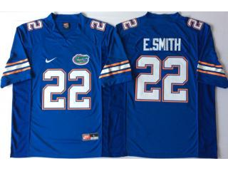 New Florida Gators 22 Emmitt Smith College Football Jersey Blue