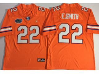 Jordan Florida Gators 22 Emmitt Smith College Football Jersey Orange