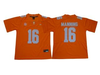 Tennessee Volunteers 16 Peyton Manning Limited Coolege Football Jersey Yellow