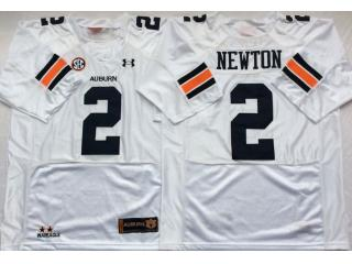 Auburn Tigers 2 Cameron Newton College Football Throwback Jersey White