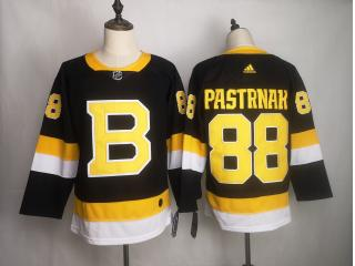 Adidas Classic Boston Bruins 88 David Pastrnak Ice Hockey Jersey Black