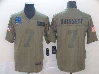Indianapolis Colts 7 Jacoby Brissett Football Jersey New Salute to Service