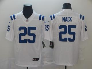 Indianapolis Colts 25 Marlon Mack Football Jersey Legend White