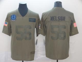 Indianapolis Colts 56 Quenton Nelson Football Jersey New Salute to Service