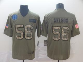 Indianapolis Colts 56 Quenton Nelson Football Jersey New Salute to Service Camo