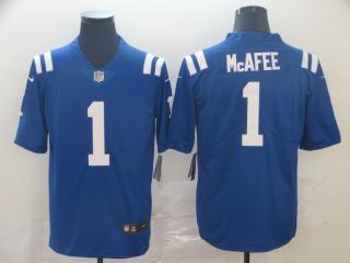 Indianapolis Colts 1 Pat McAfee Football Jersey Legend Blue