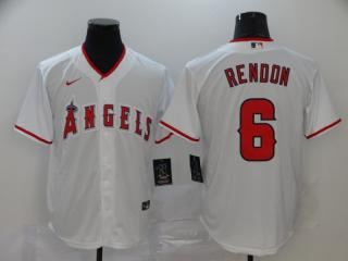 Nike Los Angeles Angeles 6 Anthony Rendon Baseball Jersey White Fan