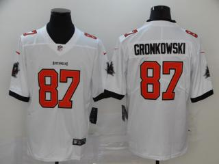 Tampa Bay Buccaneers 87 Rob Gronkowski Football Jersey Legend White