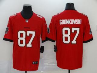 Tampa Bay Buccaneers 87 Rob Gronkowski Football Jersey Legend Red