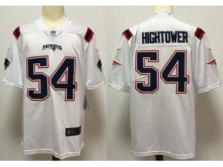 2020 New England Patriots 54 Dont'a Hightower Football Jersey Legend White