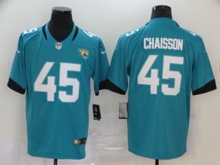 Jacksonville Jaguars 45 K'Lavon Chaisson Football Jersey Legend Green