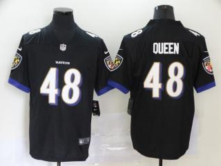 Baltimore Ravens 48 Patrick Queen Football Jersey Limited Black