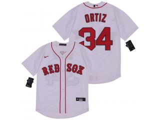 Nike Boston Red Sox 34 David Ortiz Baseball Jersey White Fan