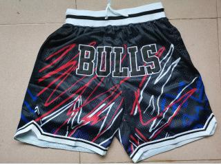Chicago Bulls  Mesh Shorts Retro Flash black pants