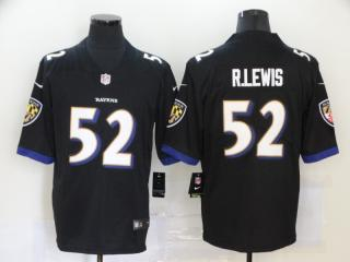 Baltimore Ravens 52 Ray Lewis Football Jersey Limited Black