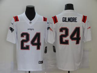 2020 New England Patriots 24 Stephon Gilmore Football Jersey Legend White