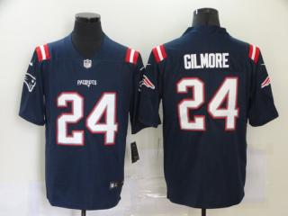 2020 New England Patriots 24 Stephon Gilmore Football Jersey Legend Navy Blue