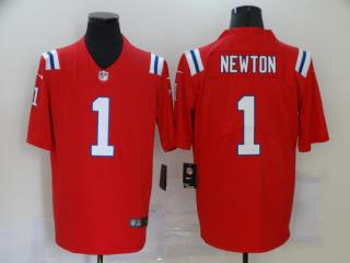 New England Patriots 1 Cam Newton Football Jersey Legend Red