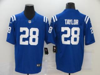 Indianapolis Colts 28 Jonathan Taylor Football Jersey Legend Blue