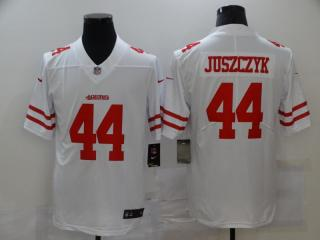 San Francisco 49ers 44 Kyle Juszczyk Football Jersey Legend White