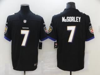 Baltimore Ravens 7 Trace McSorley Football Jersey Limited Black