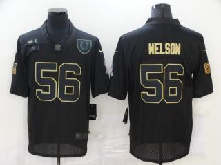 Indianapolis Colts 56 Quenton Nelson Football Jersey Legend Salute the black